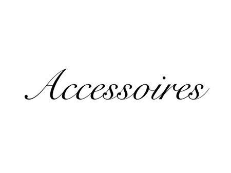 Image de la catégorie Accessoires